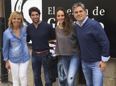 Cayetano Rivera y Eva González se dejan ver por Salamanca
