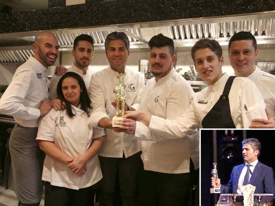 El Mesón de Gonzalo galardonado con el Premio a la Excelencia en la gala de Hosteleríasalamanca.es