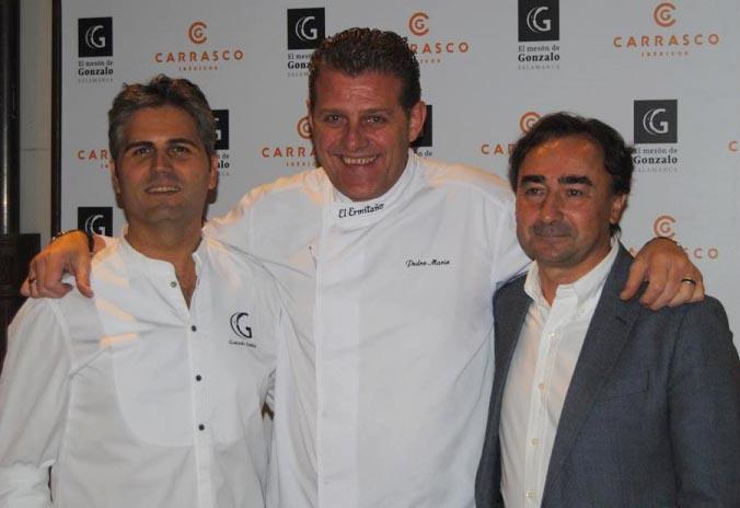 La sexta edición de 'Carrasco entre Amigos' homenajea al cerdo ibérico de bellota