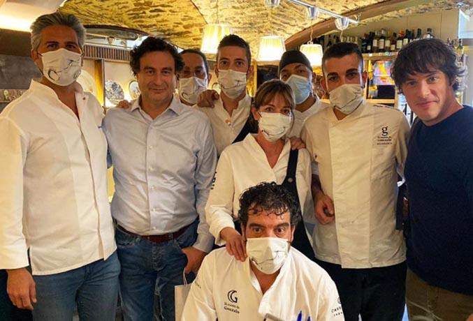 PROTAGONISTAS DEL BACKSTAGE DE MASTERCHEF